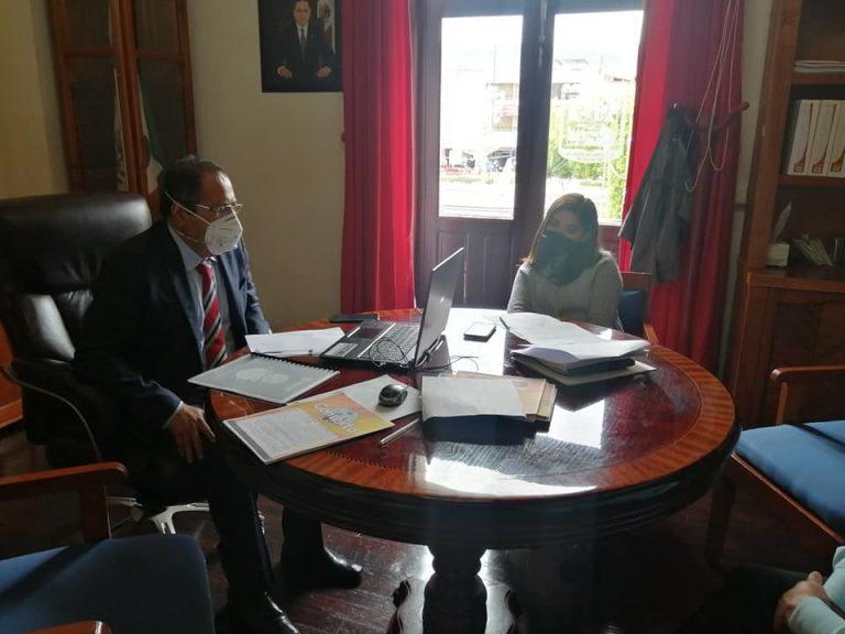 José Luis Téllez sostuvo reunión virtual con el Gobernador Silvano Aureoles Conejo