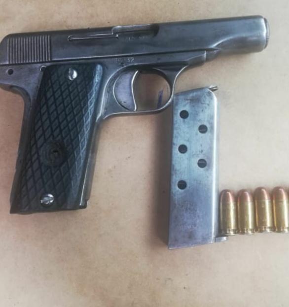 Tras labor operativa, detiene SSP a uno en posesión de arma de fuego y vehículo