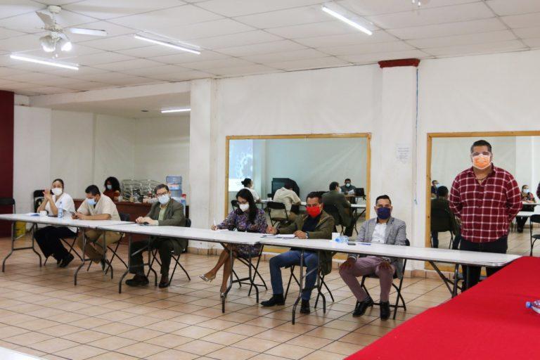 José Luis Téllez presidió reunión del Consejo Municipal de Salud
