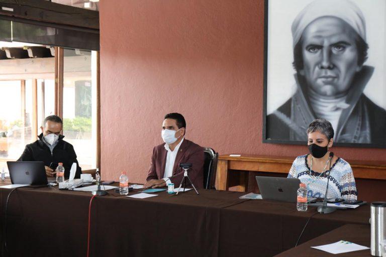 Acuerdan Gobernador y alcaldes fortalecer acciones para romper cadena de contagio por COVID-19