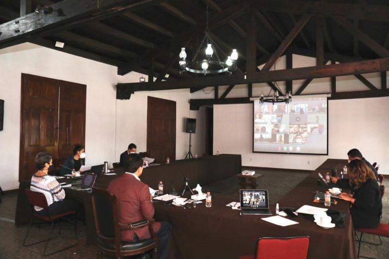 Sostiene Silvano Aureoles reunión virtual con alcalde de Zitácuaro, para continuar fortaleciendo medidas ante COVID-19