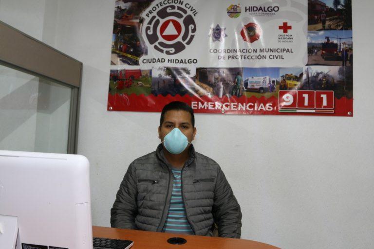 Personal de Protección Civil Municipal realiza labores de monitoreo en lugares de alto riesgo de inundaciones
