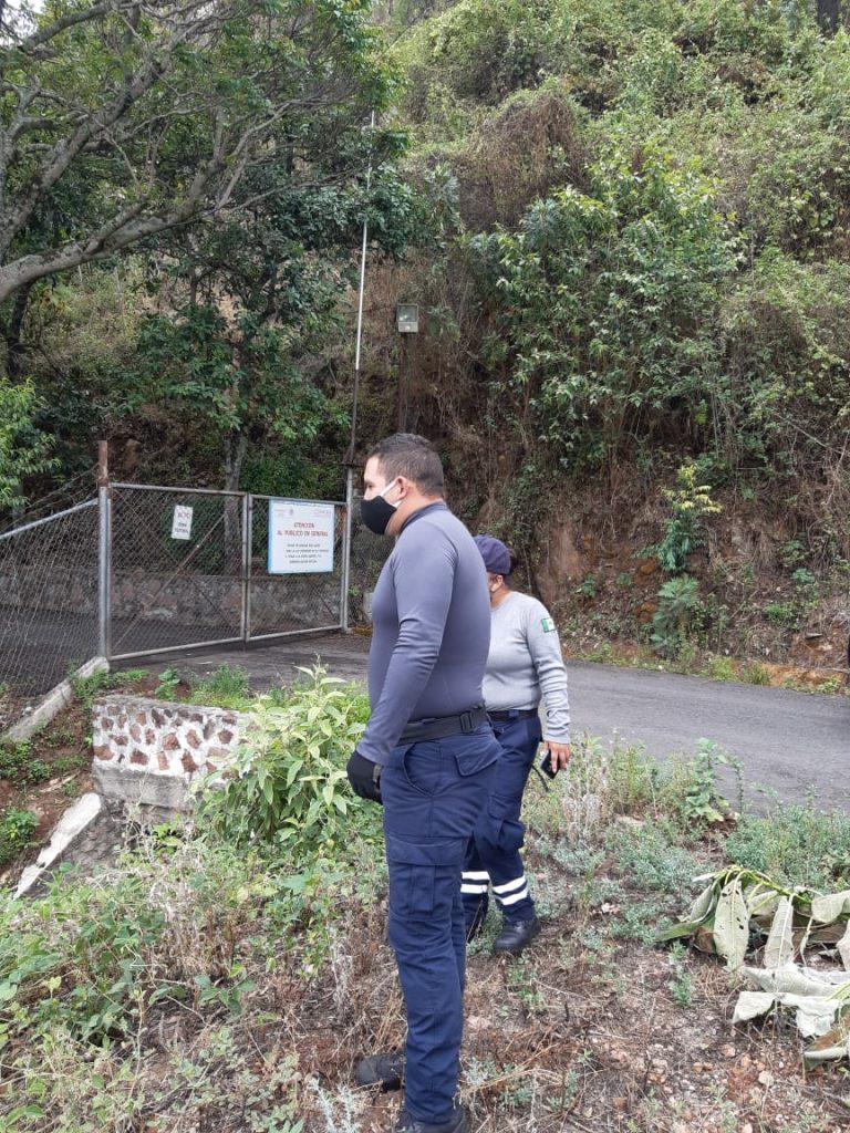 Pc y Bomberos monitorean presas y ríos de Zitácuaro