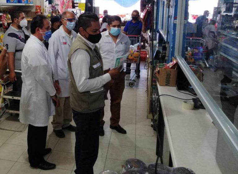 Despliegan operativo sanitario en Múgica; 7 establecimientos suspendidos