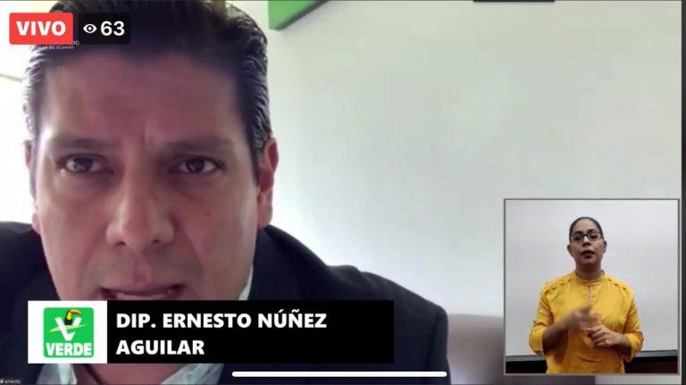 Propone Ernesto Núñez implementar exhorto judicial electrónico, en Michoacán
