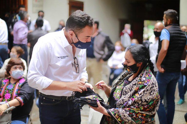 Respaldo total a artesanos michoacanos ante contingencia sanitaria: Carlos Herrera