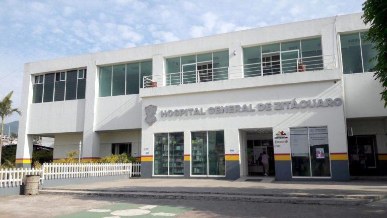 Son atendidos 7 pacientes con COVID-19 en el Hospital Regional de Zitácuaro
