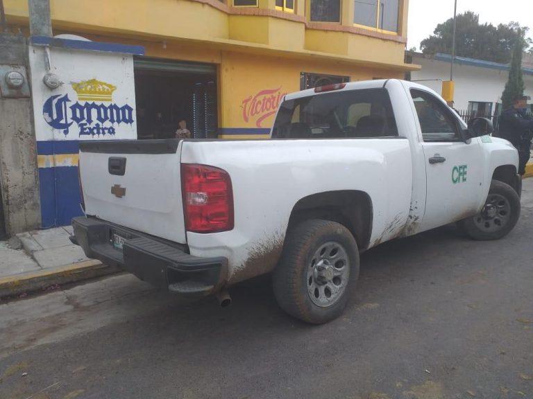 Detiene SSP a tres presuntamente implicados en extorsión a comerciantes, en Maravatío.
