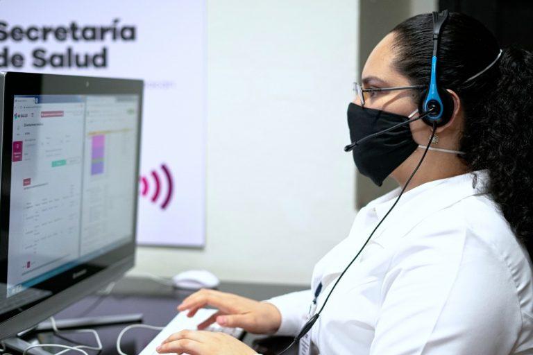 Atiende SSM a 431 pacientes COVID-19, por medio de la app Mi Salud.