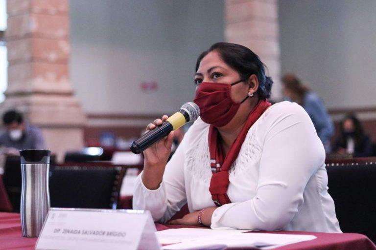 El Estado debe garantizar derecho a la identidad de todos los niños y niñas de Michoacán: Zenaida Salvador Brígido.