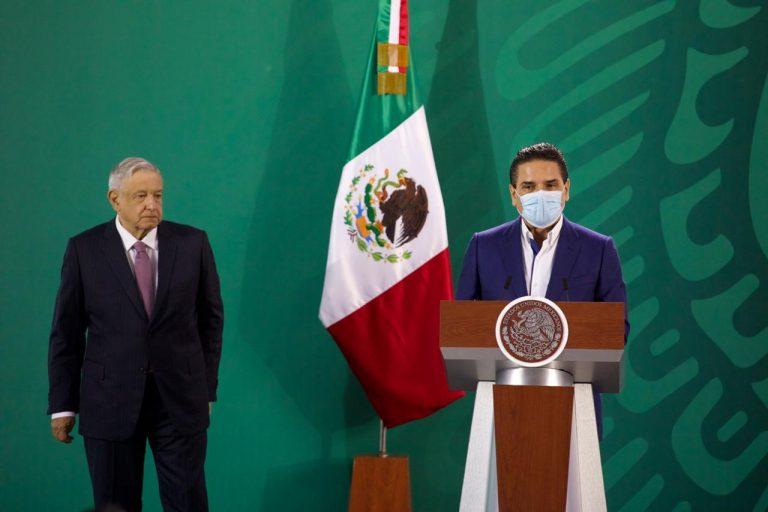 Titánica, labor coordinada en salud y seguridad en Michoacán: Silvano Aureoles.
