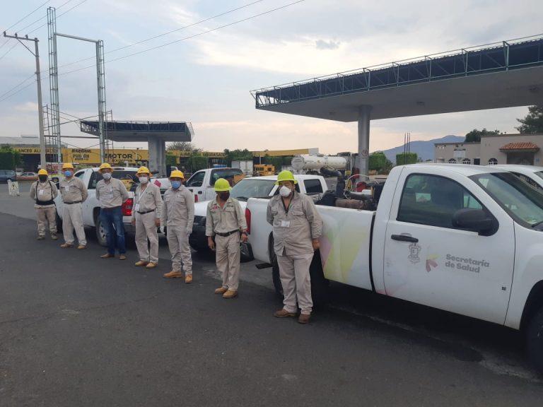 Intensifica SSM acciones vectoriales en 36 colonias de Zamora.