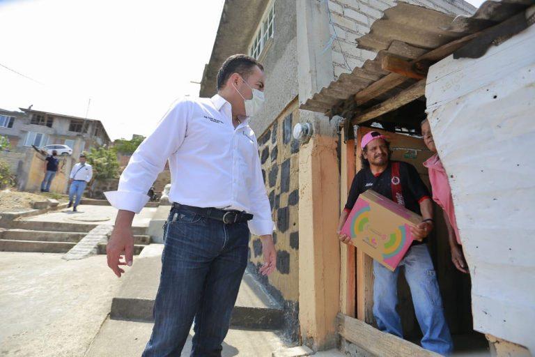 Michoacán Alimenta continuará para beneficiar a familias michoacanas: Carlos Herrera