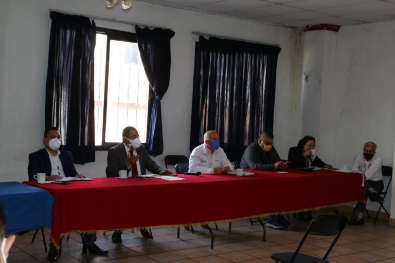 José Luis Téllez se reunió con dueños y representantes de restaurantes, bares, hoteles, centros turísticos y sacerdotes