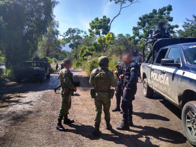 En otro hecho, detienen SSP, Sedena y GN a dos más en posesión de arma de fuego en Huetamo