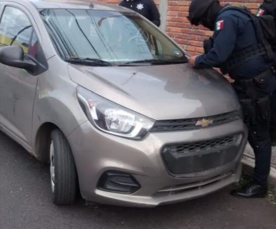 Localiza SSP vehículo con reporte de robo, en Morelia