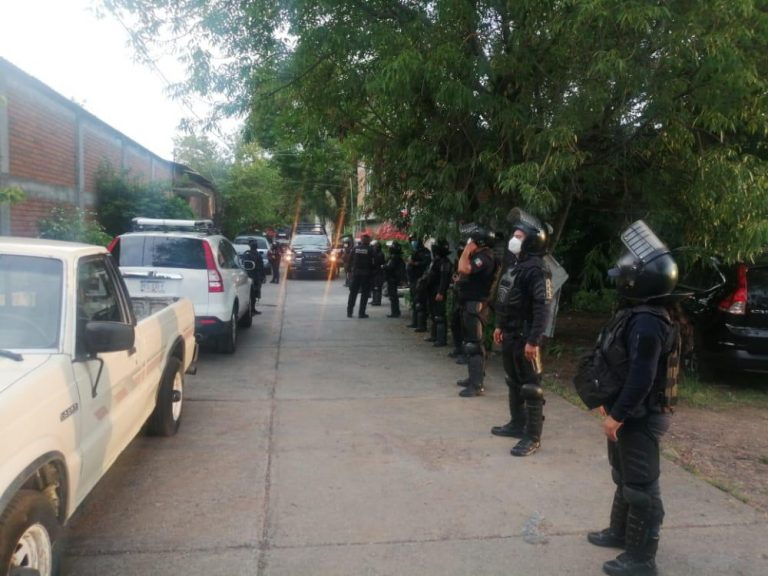 Desactiva SSP fiesta que se desarrollaba en Morelia