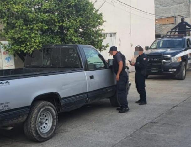 Asegura SSP camioneta con reporte de robo, en Morelia