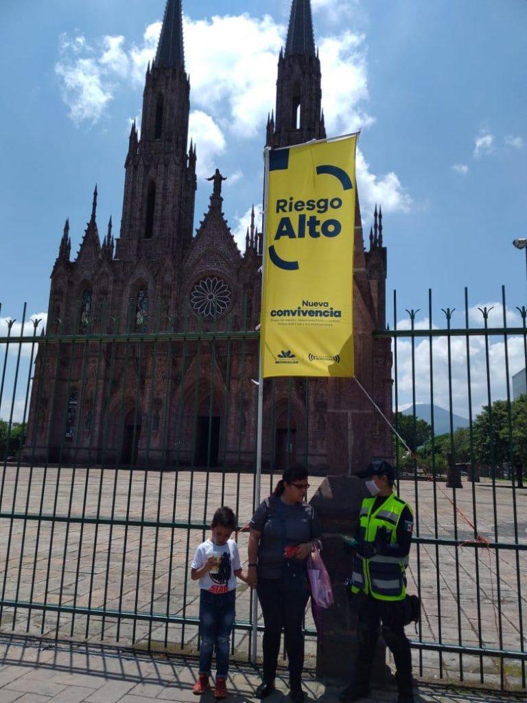 Zamora continúa en Bandera Amarilla; mantiene SSP acciones contra COVID-19