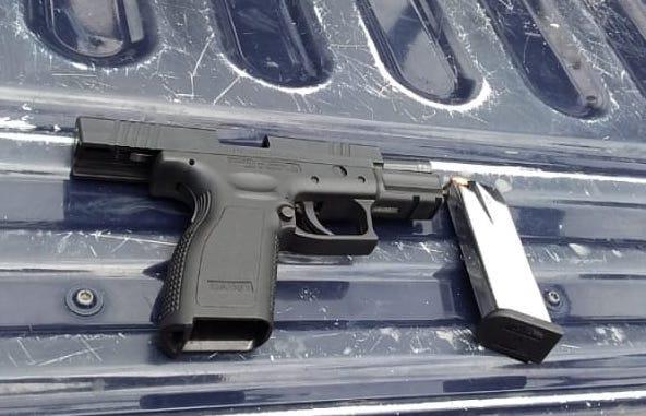 Detiene SSP a uno en posesión de arma de fuego, en Cd. Hidalgo.