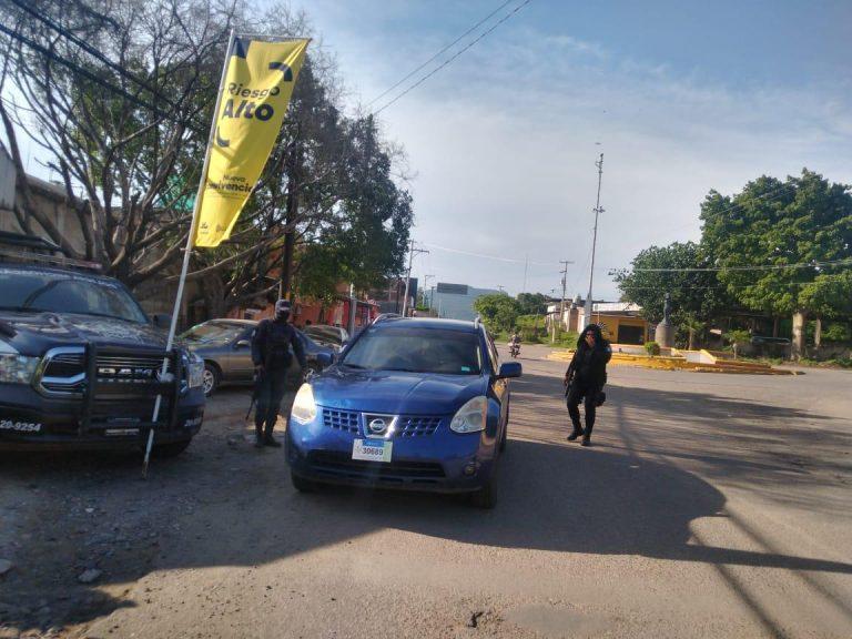 Continúa Bandera Amarilla en Huetamo; intensifica SSP labores para mitigar COVID-19