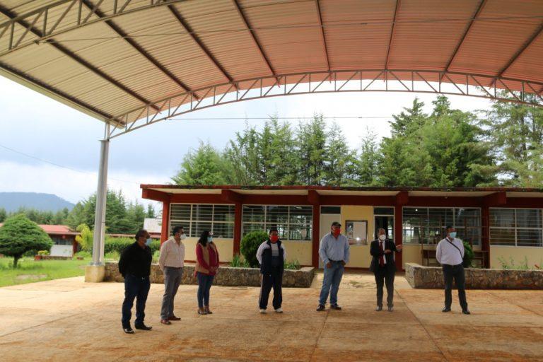 José Luis Téllez supervisa obras en San Antonio Villalongín