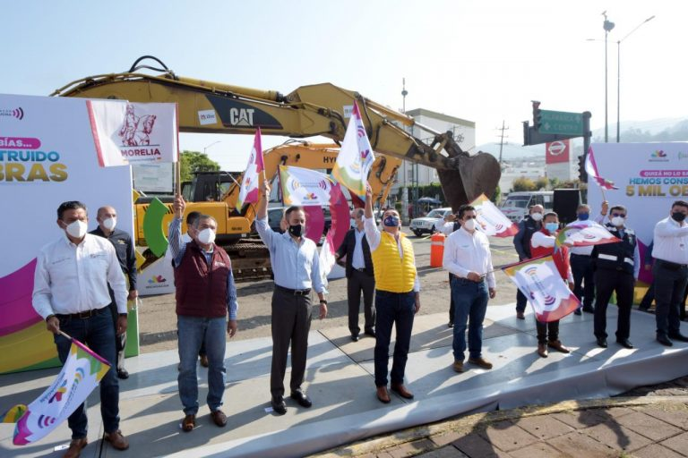 Destaca Raúl Morón coordinación entre órdenes de gobierno para la realización de obras en Morelia