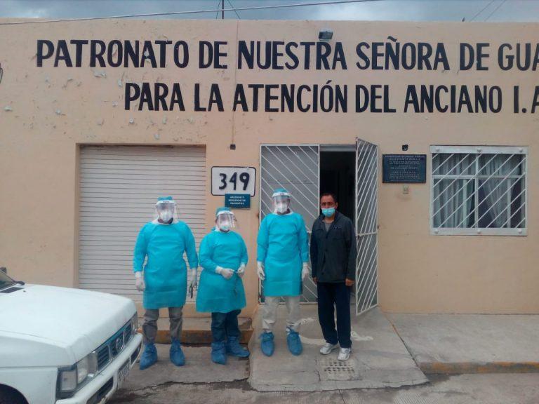 SSM monitorea salud de residentes y trabajadores de asilo