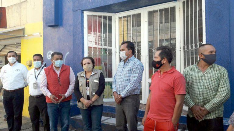 Supervisan autoridades municipales, Coepris y COCOTRA que choferes sigan medidas sanitarias