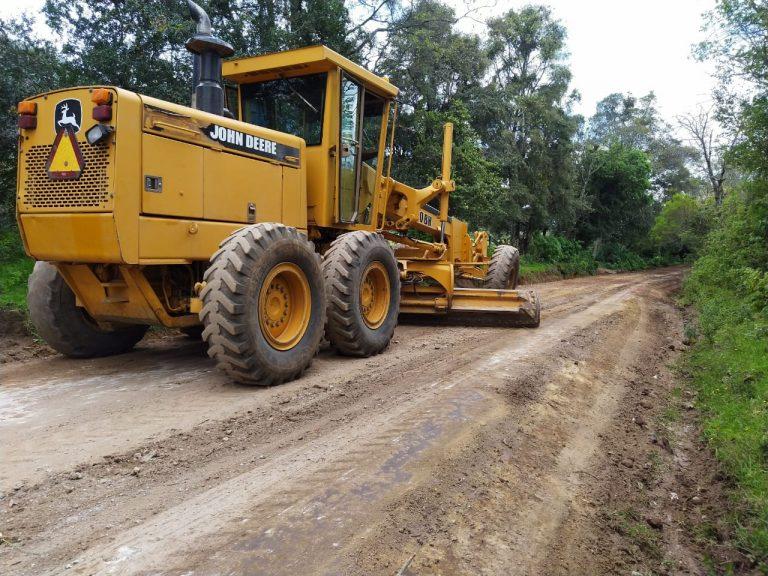 Ayuntamiento de Hidalgo rehabilitó 9 kilómetros de caminos rurales