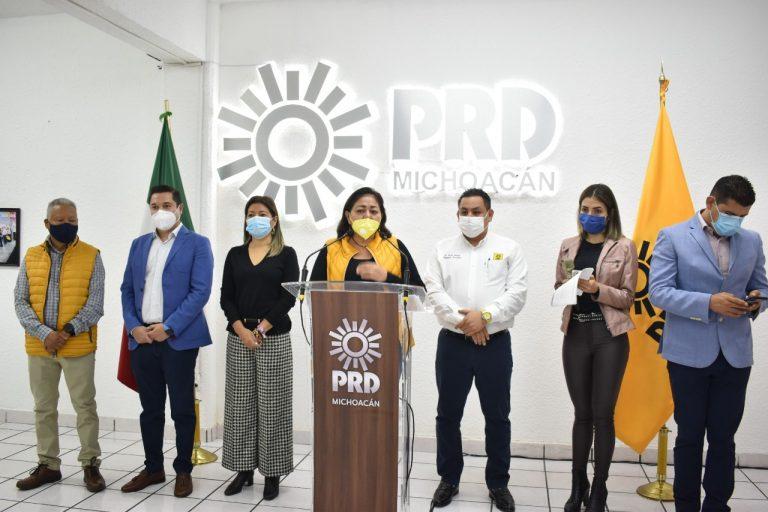 Un informe presidencial demagógico, de cifras alegres y sin resultados: PRD Michoacán