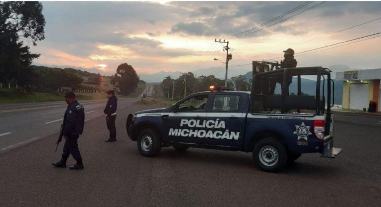 Realiza SSPM acciones de seguridad y recomendaciones de COVID-19 en Zitácuaro