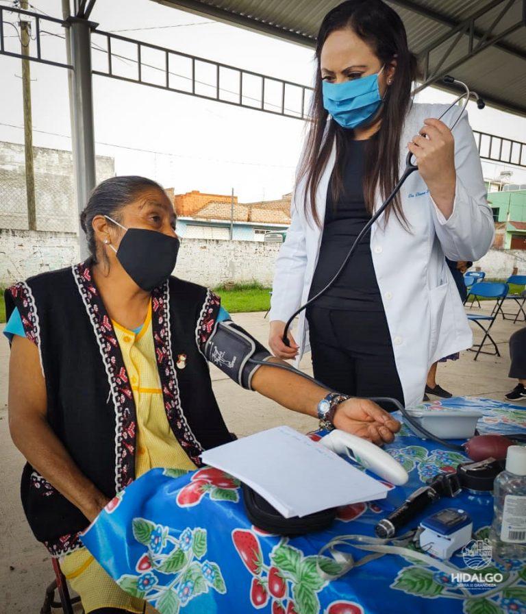 DIF Municipal continua con el programa Caravana de la Salud