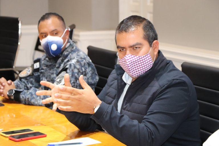 El trabajo colaborativo es la ruta para seguir enfrentando el reto de combatir la pandemia, alcalde Hugo Hernández