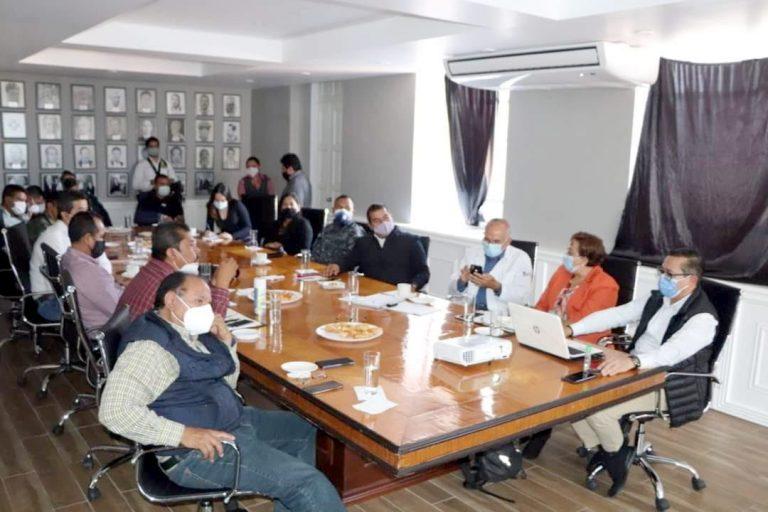 Presidentes municipales, sector salud, corporaciones policiacas acuerdan suspensión de posadas y fiestas decembrinas