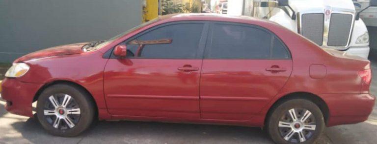 En Uruapan, detiene SSP a uno en posesión de vehículo con medios de identificación alterados.