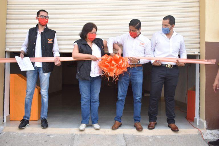Michoacán continúa pintándose de naranja al inaugurar la Casa Ciudadana en Tepalcatepec