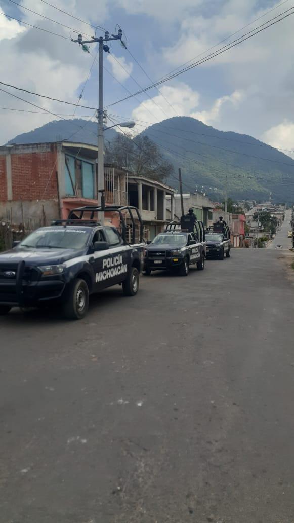 Implementa la SSPM recorridos de prevención del delito en tenencias de Zirahuato de Los Bernal y San Felipe Los Alzati