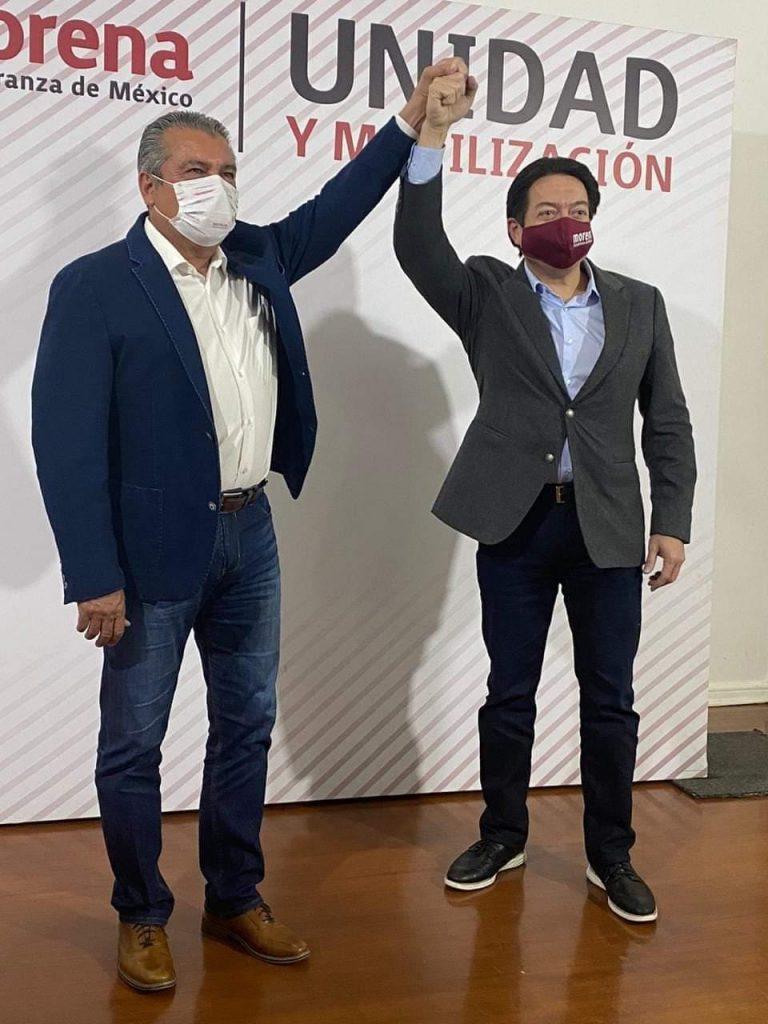 Raúl Morón encabezará el proyecto para instaurar la 4ta. Transformación en Michoacán
