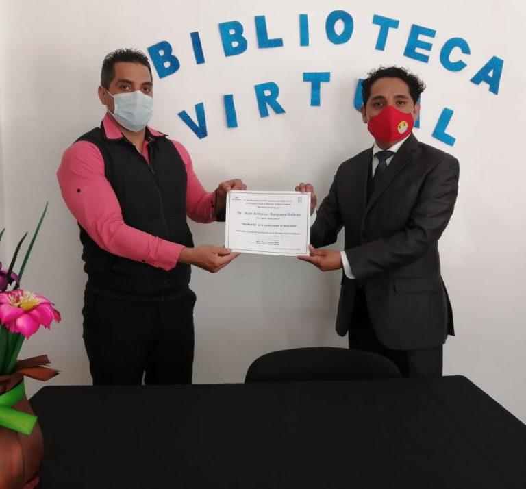 Se desarrolla en la biblioteca virtual de Zitácuaro charla sobre el Día mundial de la lucha contra el SIDA