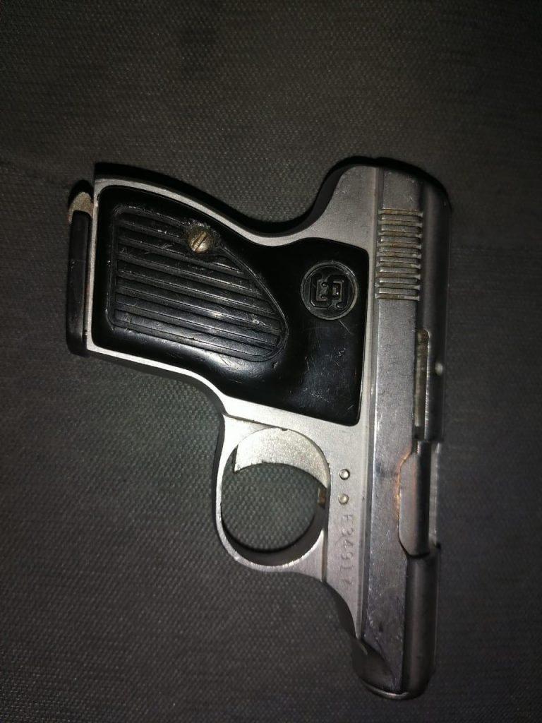Asegura SSP arma de fuego en Morelia
