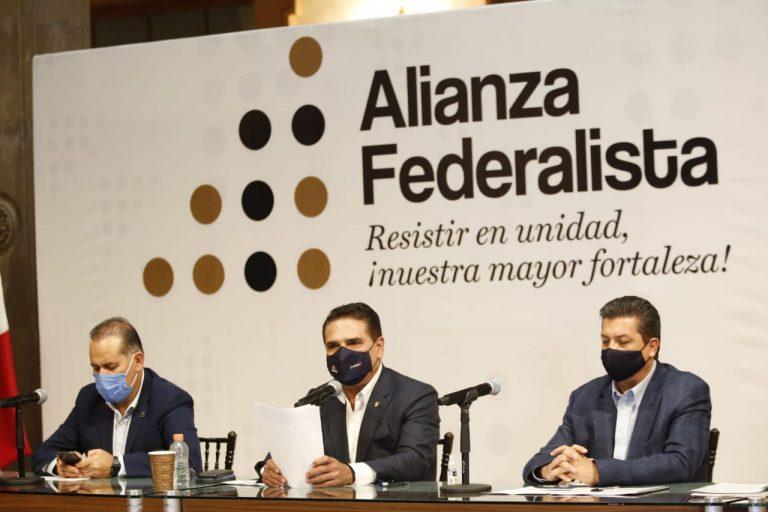 Acepta Alianza Federalista pacto; pide excluir a Servidores de la Nación del plan de vacunas