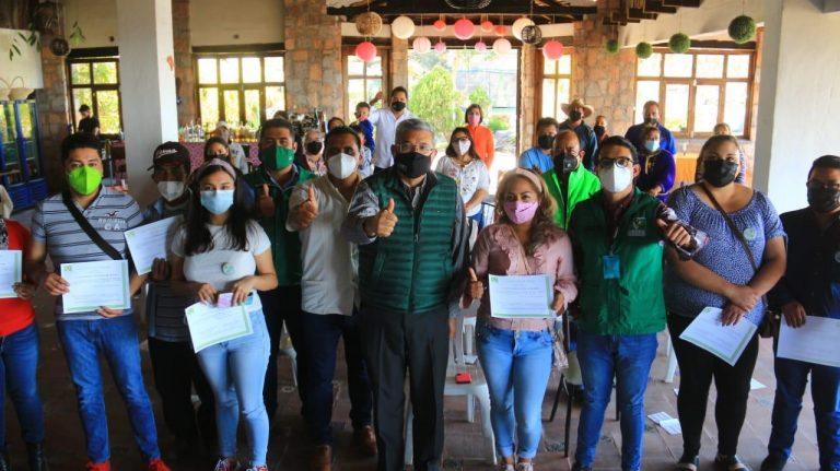 Consolida Partido Verde su plataforma política en el oriente de Michoacán
