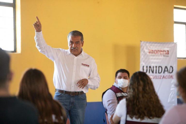 INE suspende registro como candidato a gobernador de Michoacán a Raúl Morón Orozco.