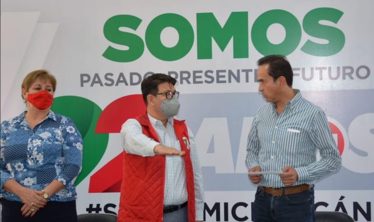 Eligio Cuitláhuac González Farías, designado presidente provisional del PRI
