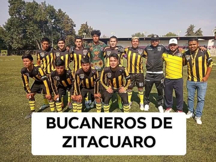 BUCANEROS DE ZITÁCUARO FRENA Y DERROTA AL SUPERLÍDER DER MACA FC 1 a 0