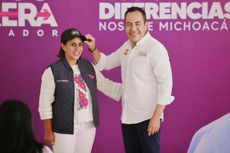 """Se fortalece Carlos Herrera, se suma """"Cocoa"""" al Equipo por Michoacán"""