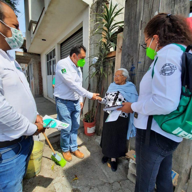 Hidalgo se pintará de Verde con nuestros candidatos: Edgar González