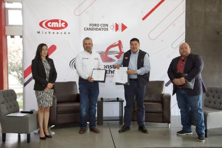 Empresas michoacanas participarán en desarrollo de obra publica: Bedolla