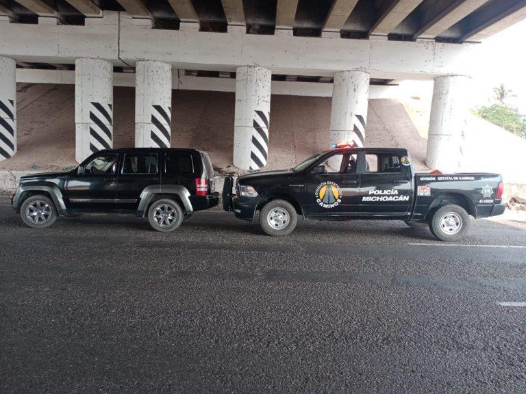 En Lázaro Cárdenas, detiene SSP a uno en posesión de vehículo con reporte de robo